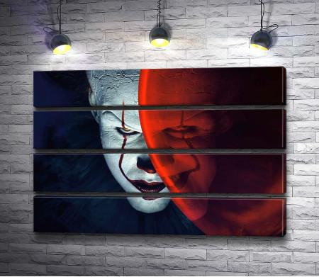 Страшный клоун Пеннивайз