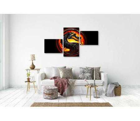 Главный дракон из игры Mortal Kombat