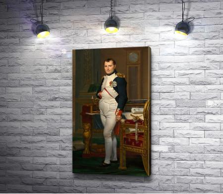 """Жак-Луи Давид """"Император Наполеон в своём кабинете в Тюильри"""""""
