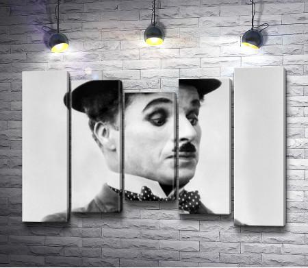 Удивленный Чарлин Чаплин