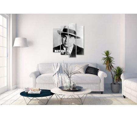 Черно-белое фото Аль Капоне