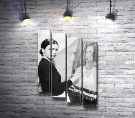 Художница Фрида Кало