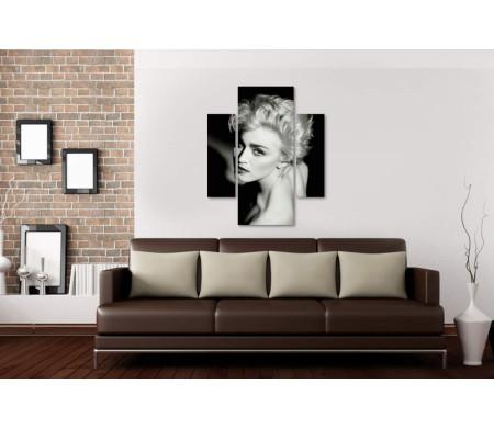Мадонна, ретро-портрет