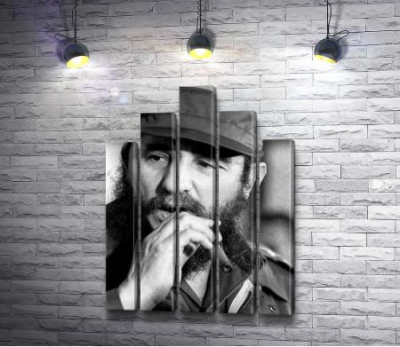 Фидель Кастро, кубинский революционер
