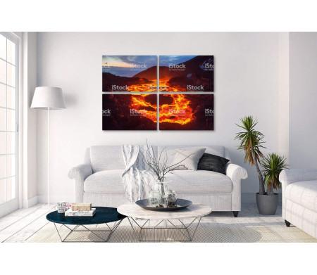 Огненная лава