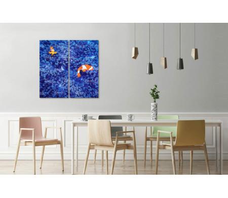 Рыбы-клоун среди кораллов