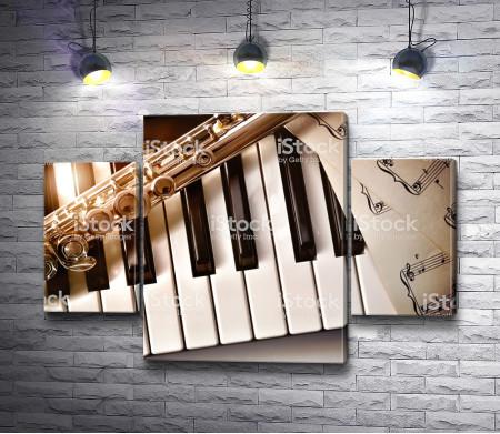Ноты и пианино