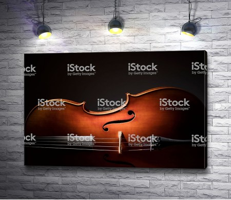 Скрипка в темной гамме