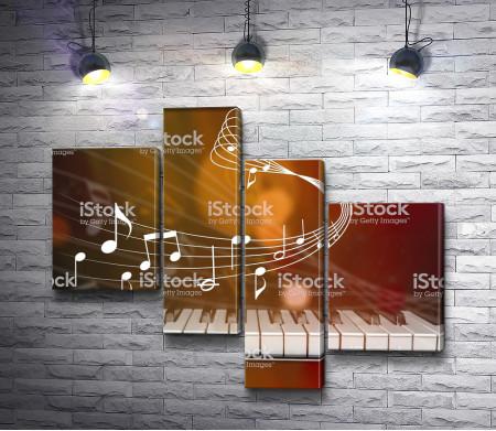 Фортепиано и ноты