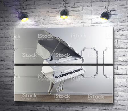 Рояль на стене