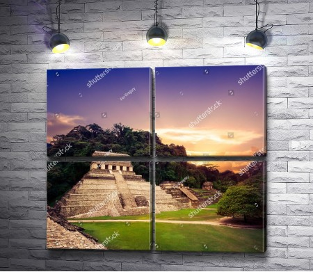 Пирамида цивилизации Майя