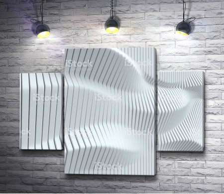 Объемная 3D стена