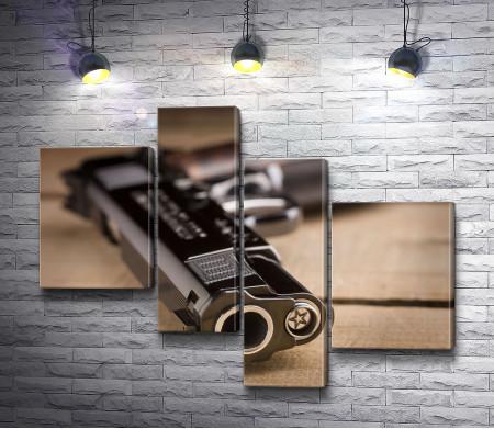 Дуло американского пистолета Cabot