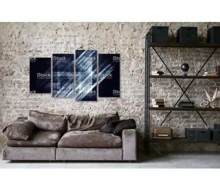 Абстрактный синий бетон