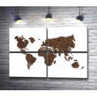 Кофейная карта мира