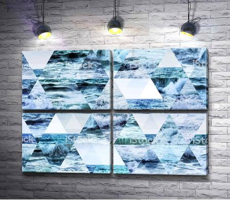 Море в треугольниках