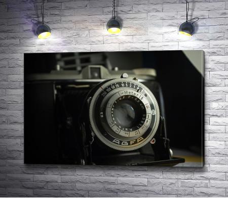 Старый ретро-фотоаппарат