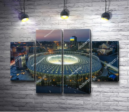 Национальный спортивный комплекс «Олимпийский», Киев, Украина