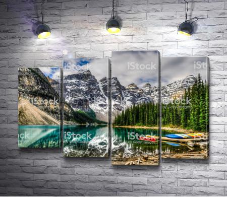 Горное озеро невероятной красоты