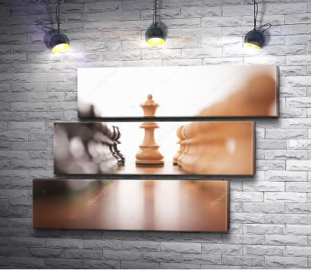 Противостояние на шахматной доске