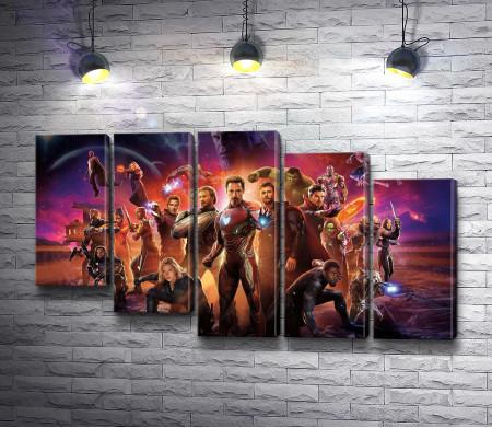 Супергерои из фильмов студии Marvel