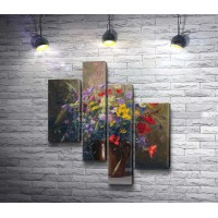 Натюрморт с дикими цветами