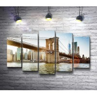 Висячий Манхэттенский мост, США