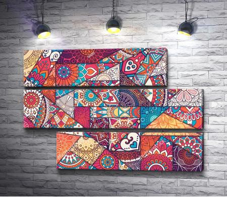 Мозаика из орнаментов