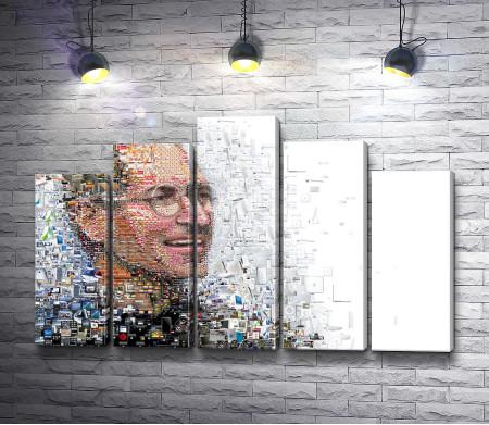 Мозаика из техники - Стив Джобс
