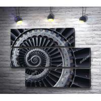 Спиралевидная турбина