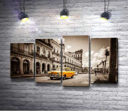 На одной из улиц Старой Гаваны, Куба