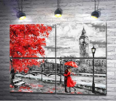 Осенняя романтика в Лондоне