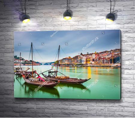 Каналы красочного Порту (Португалия)