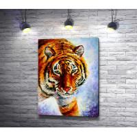 Амурский тигр в живописи