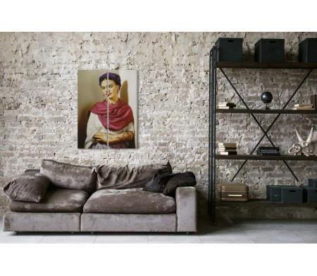 Фрида Кало в цветном портрете - Николас Мюрей