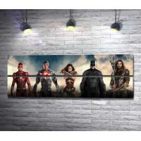Лига справедливости- Бэтмен, Чудо-женщина, Флэш и Аквамен
