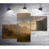 Альберт Бирштадт - Looking Down Yosemite-Valley