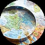 """Картины на холсте по теме """"Современные карты мира"""""""