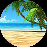 "Картины на холсте по теме ""Пляжи, тропики"""