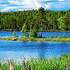 Озера, реки