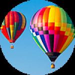 """Картины на холсте по теме """"Воздушные шары"""""""