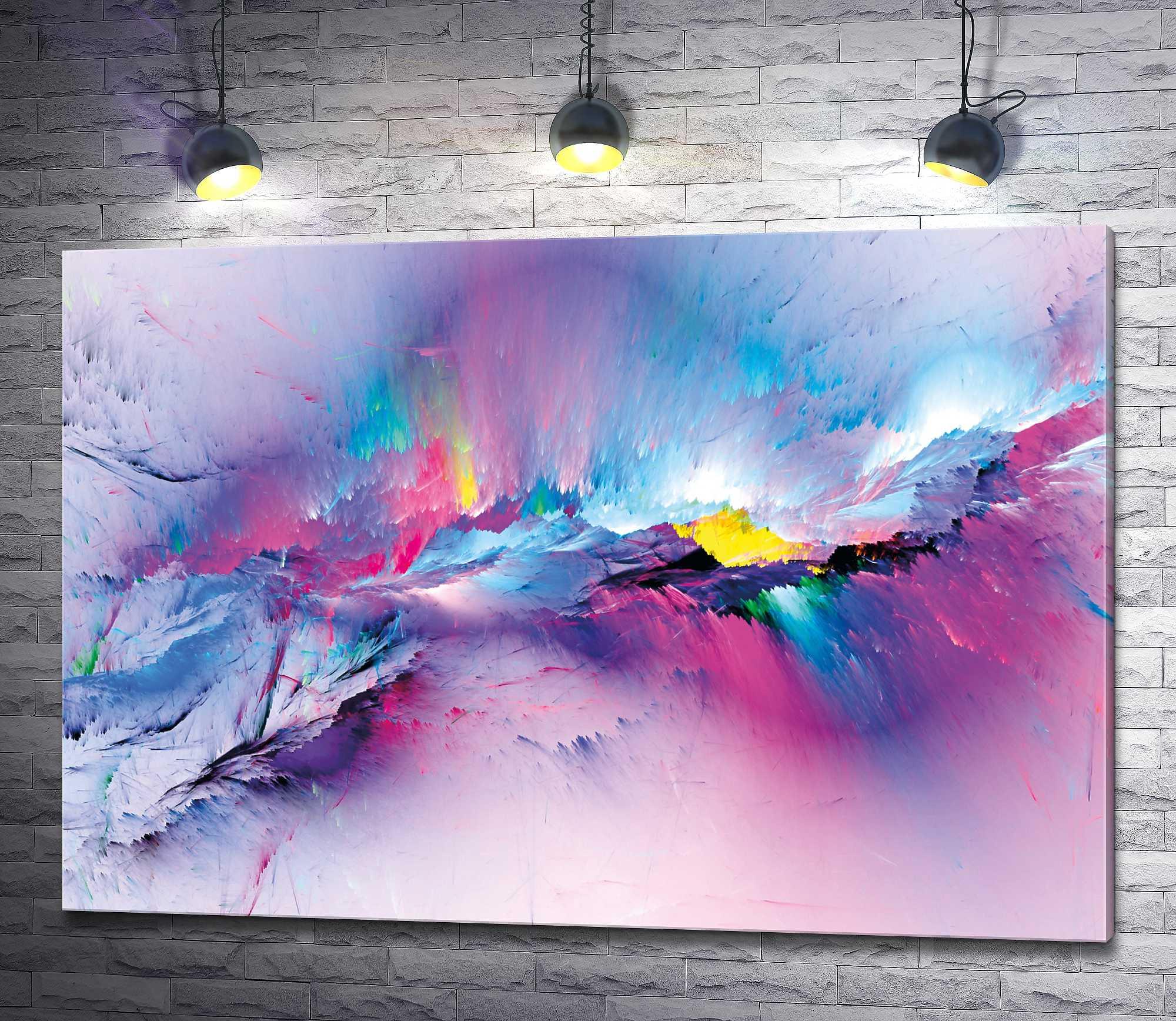 "Картина ""Цветные облака"""