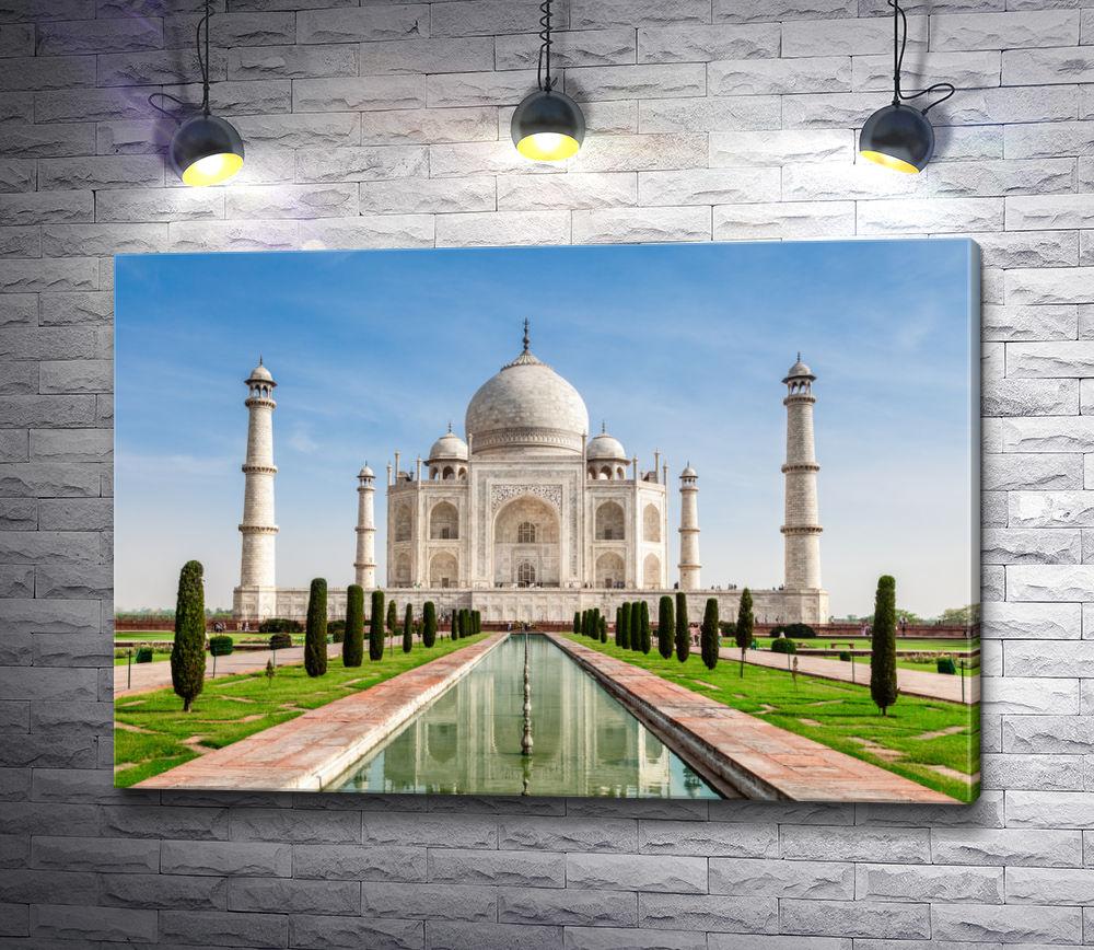 """Картина """"Мечеть Тадж-Махал в Индии"""""""