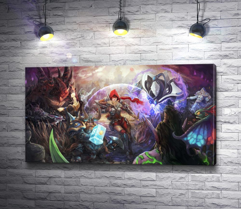 """Картина """"Тиранде - Heroes of the Storm, Tyrande"""""""