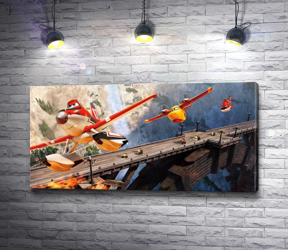 """Картина """"Дасти """"Самолеты: Огонь и Вода"""" - Дисней"""""""