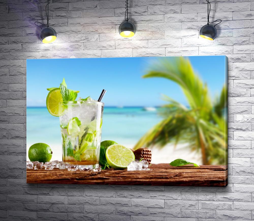 """Картина """"Пляж Мохито"""""""