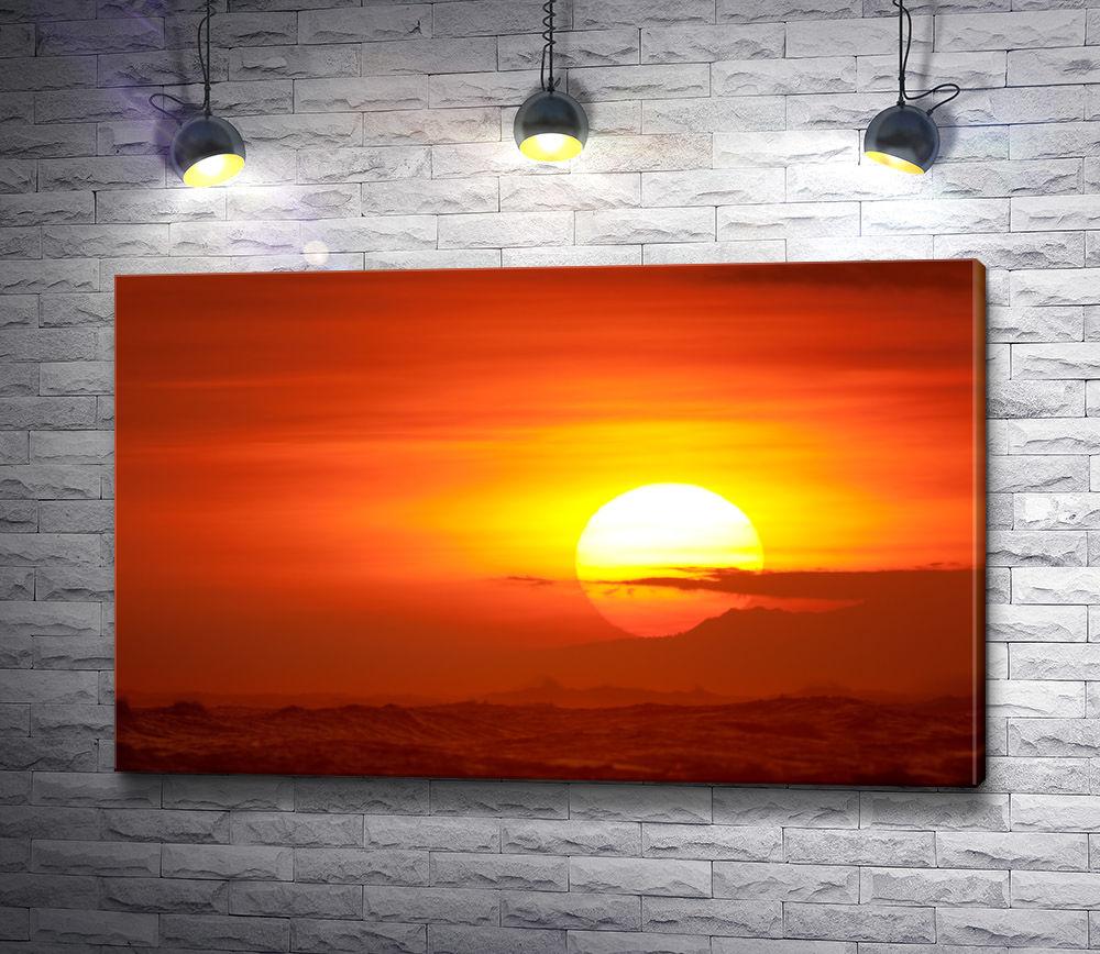 """Картина """"Закат солнца"""""""