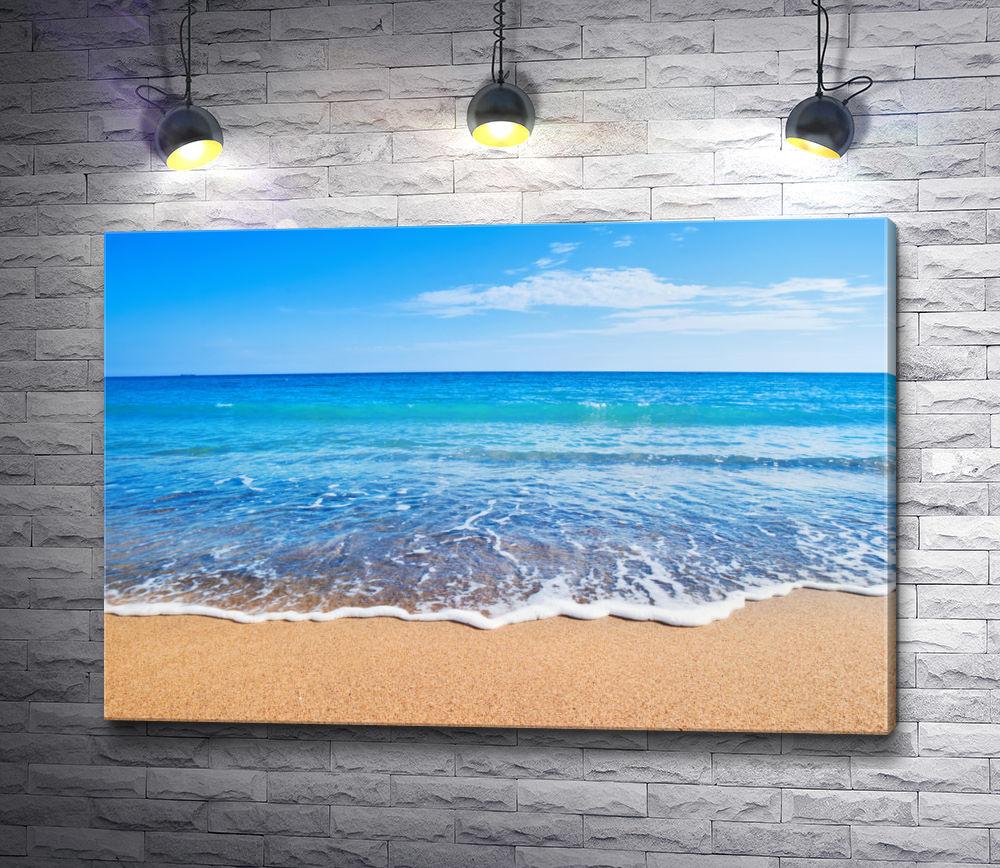 """Картина """"Пейзаж с морским приливом"""""""