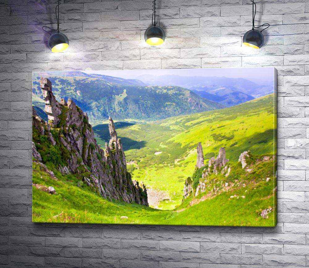 """Картина """"Лето в горах"""""""