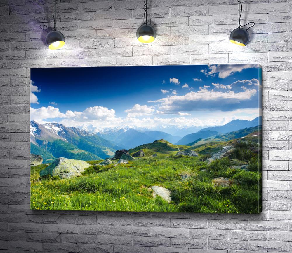 "Картина ""Панорама с горы Фесекарп. Питер Фей"""